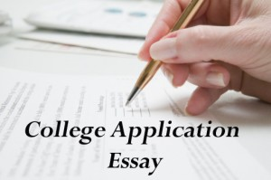 Writing a college application Essay in a day?